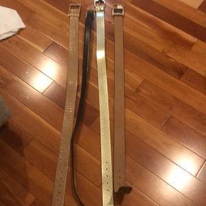 Accessories - 4 Belts